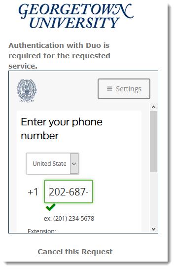 Enter landline phone number