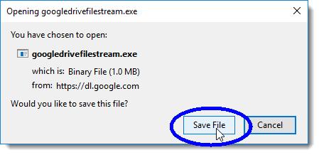 Click the Save File button
