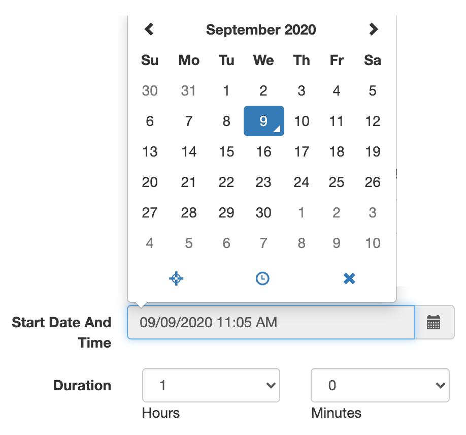 Zoom custom meeting scheduler