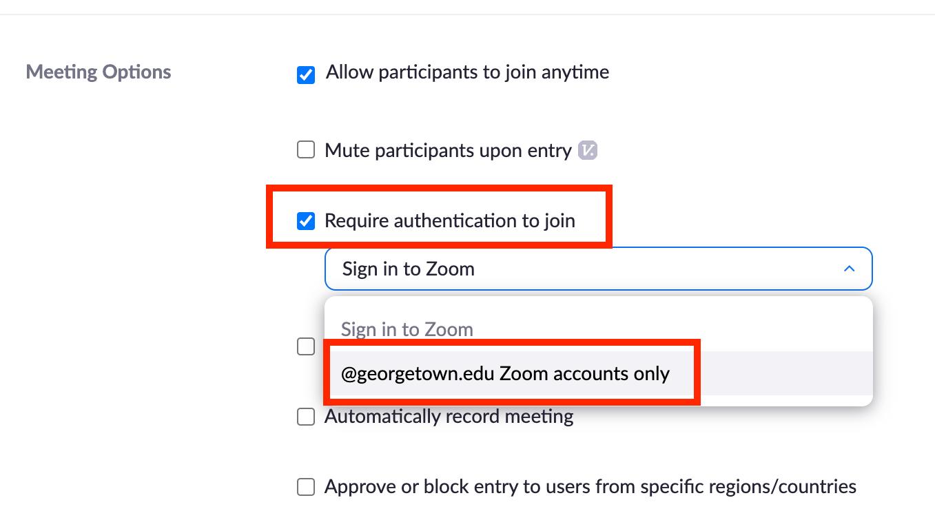 meeting options web