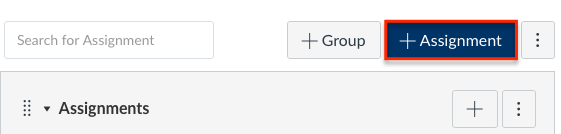click plus assignment button